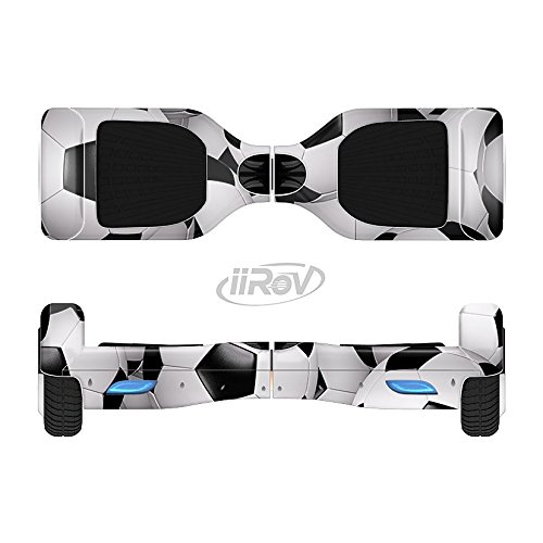 The Soccer Ball Overlay Full-Body Wrap Skin Kit for the iiRov HoverBoards and other Scooter (HOVERBOARD NOT INCLUDED)