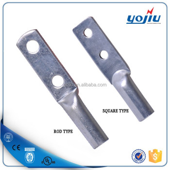 DTGD Two Holes Tinned Copper Type Cable Connector Electric Wire Lug
