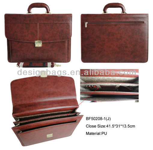 2017 new arrival Briefcase parts/briefcase sling bag/ pu leather briefcase men