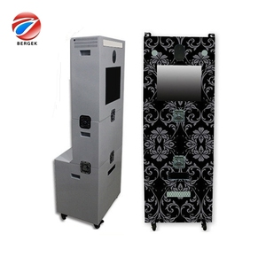 2018 sheet metal manufacturing portable photo booth/photo display cabinet