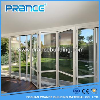 Di alta qualit pieghevole porte finestre prezzi americano patio door insonorizzate porte a - Finestre stile americano ...