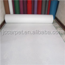 white color plain carpet for wedding use