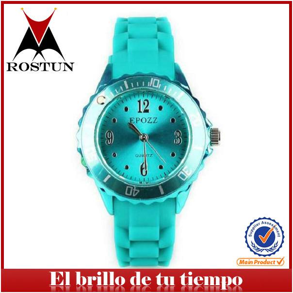 23794bca455e relojes finos relojes silicona colores de estilo moderno al por mayor  relojes baratos chinos