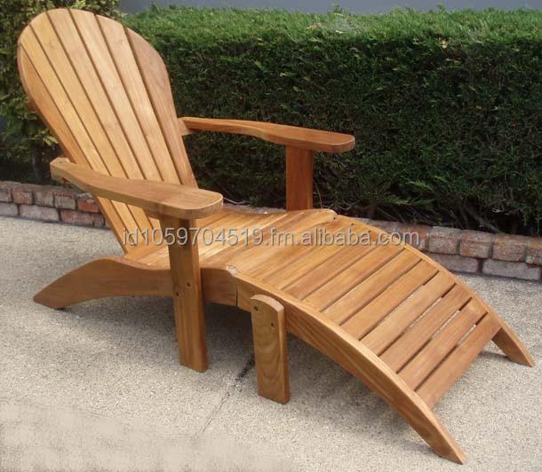 Chaise adirondack chaises en bois id de produit 172390584 for Chaise adirondack bois