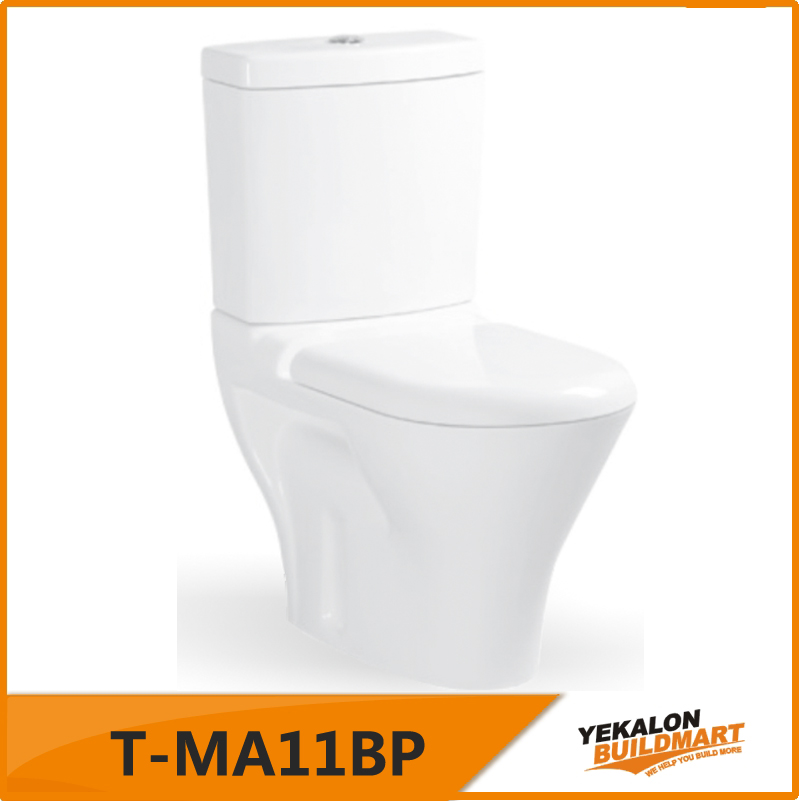 special design wc toilet easy for cleaning and strong water flushing