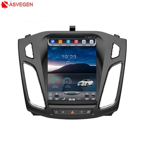 Factory Price!! Tesla Vertical 10.4inch Touch Screen Car Video Player For Ford Focus 2012-2015