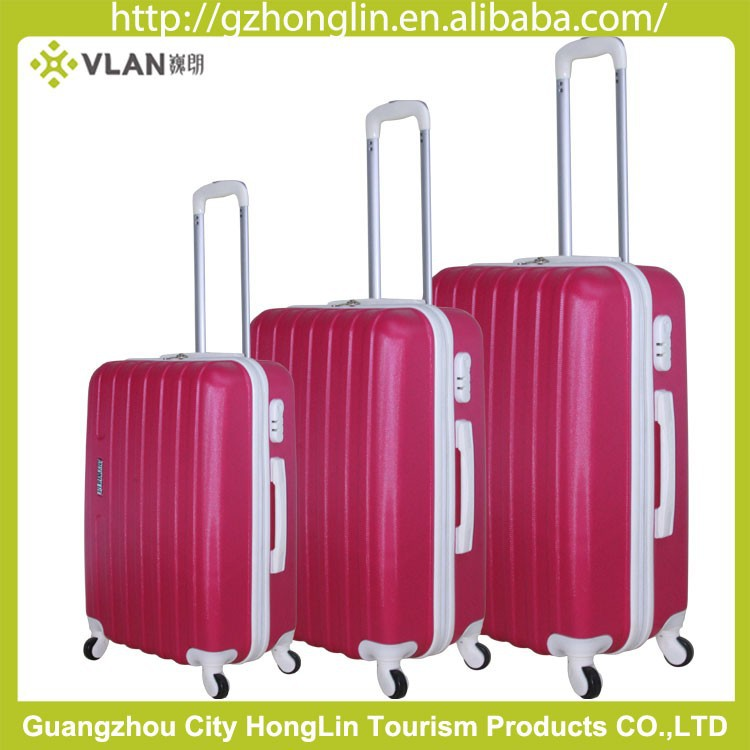 2016 Guangzhou Luggage Trolley Bag Vip Sky Travel Luggage Trolley