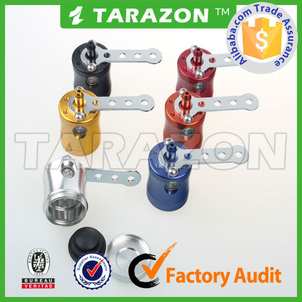 TARAZON brand CNC alloy aluminum motorcycle brake fluid reservoir