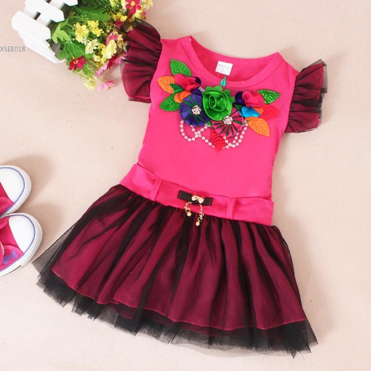 Baby Girl Kids font b Children s b font Summer font b Dress b font Casual