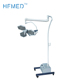 MINA-OL002 China suppliers CE ISO hospital equipments double heads surgical dental chair light led