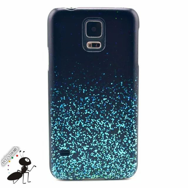 Luxury Cell Phone Cases For Samsung Galaxy S5 G9600 Fashion Cartoon Pattern PC Back Cover Black Frame Fundas For Galaxy S5 Case