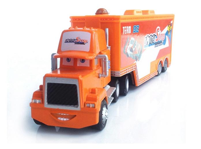 New Pixar Cars 2 Toys Diecast Metal Mack Cars Sputter Stop No. 92 truck Hauler Classic Kids Car Toys For Children