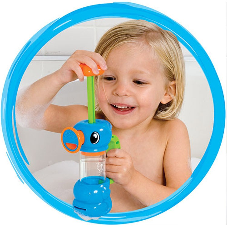 Queena Baby Kids Gift Baby Bath Toys Automatic Spout Play Taps Bath Water Toy