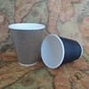 Effective heat insulation ripple wall paper cup for coffee