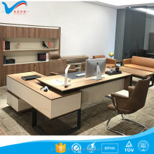 2018 oem wood office table 702-T01 executive office furniture desk in guangdong market