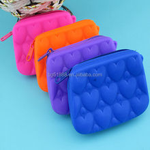 2016 Hot Sale New Quality Ladies Heart Shape Silicone Clutch Bag India Payment Asia Alibaba China Supplier Wholesale