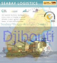 Shanghai Bulk Cargo Shipping to Djibouti by Sea
