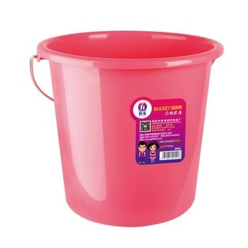 Family Creativity Plastic Small Beach Buckets Pure Color Bucket
