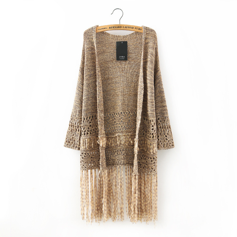 a7b30085a7883d Get Quotations · 2015 fashion women long sweaters long cardigan knitted  cardigans jersey mujer knit sweater robe pull longue