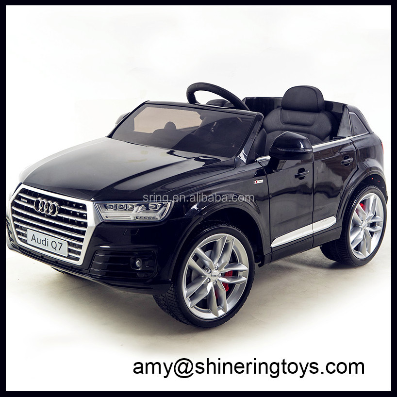 new kids toys for 2016 toy ride on baby car licenced Audi Q7