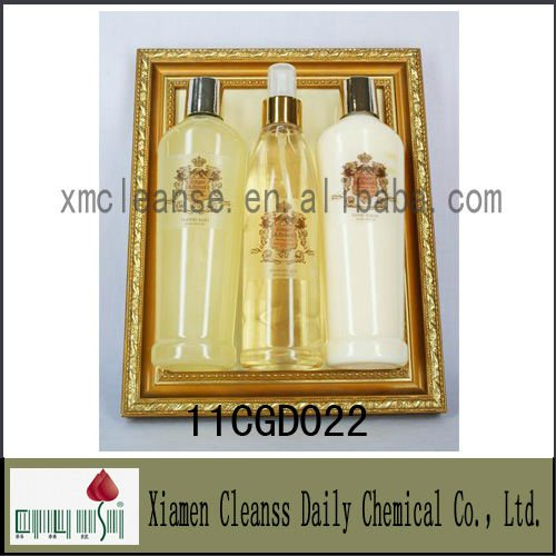 Gold Photo Frame Bath Gift Sets For Bathroom