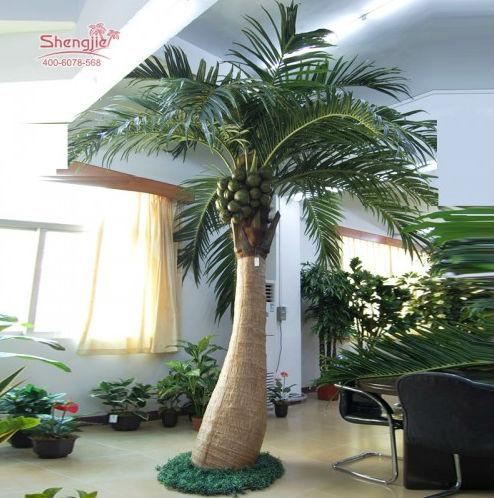Le fabricant de porcelaine gros palmier artificielle noix - Palmier noix de coco ...