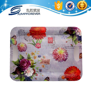 2016 Hard and high quality wholesale plastic ware lunch tray