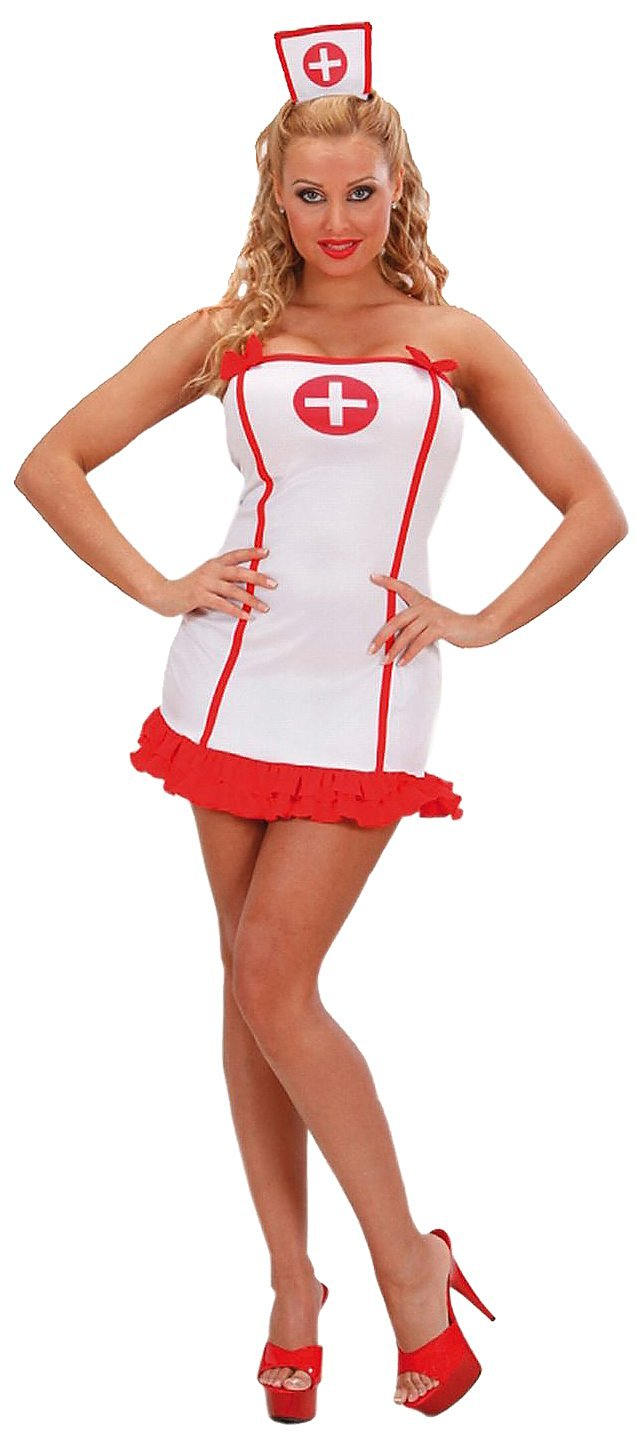 Head nurse halter dress adult