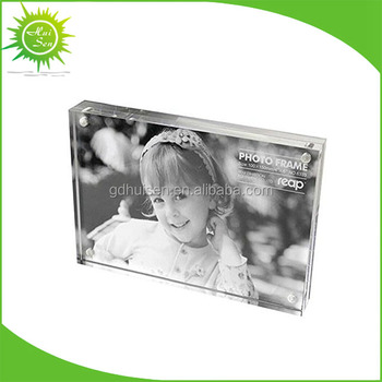 Wholesale Clear Plastic Baby Sister Acrylic Photo Blocks And Acrylic ...