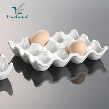 kitchenware ceramic easter egg holder egg tray