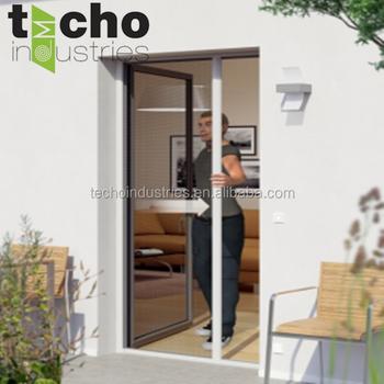 New Term Roller Insect Screen Door