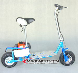 Hot Selling Gas Powered Engine Single Cylinder 43CC Gas Scooter for Sale