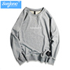 Wholesale High quality unisex no pocket casual crew neck pullover