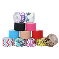 Different Materials Custom Cheap Multicolor Protective Athletic Medical Kinesiology Muscle Supportive Sports Tape