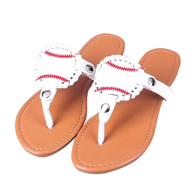 Cheap 6-11inch pu leather summer ladies softball baseball soccer design sports <strong>sandal</strong>
