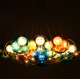 Top Quality Modern Hotel Decoration Colorful Glass Ball Hanging Chandelier from China Supplier
