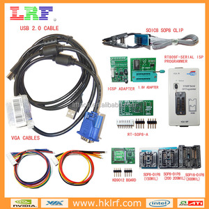 RT809F Programmer All Adapters LCD Reader + Low voltage chip adapter Apple Tablet phone BIOS
