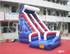 Cheap mini inflatable water slide for sale