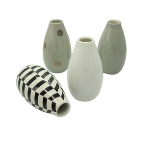 Ceramic Porcelain Handmade Flower Vase Modern Home Decoration Ceramic Vase