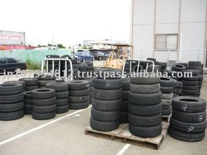 used 10-24inch radial or snow tire for passenger vehicles from japan