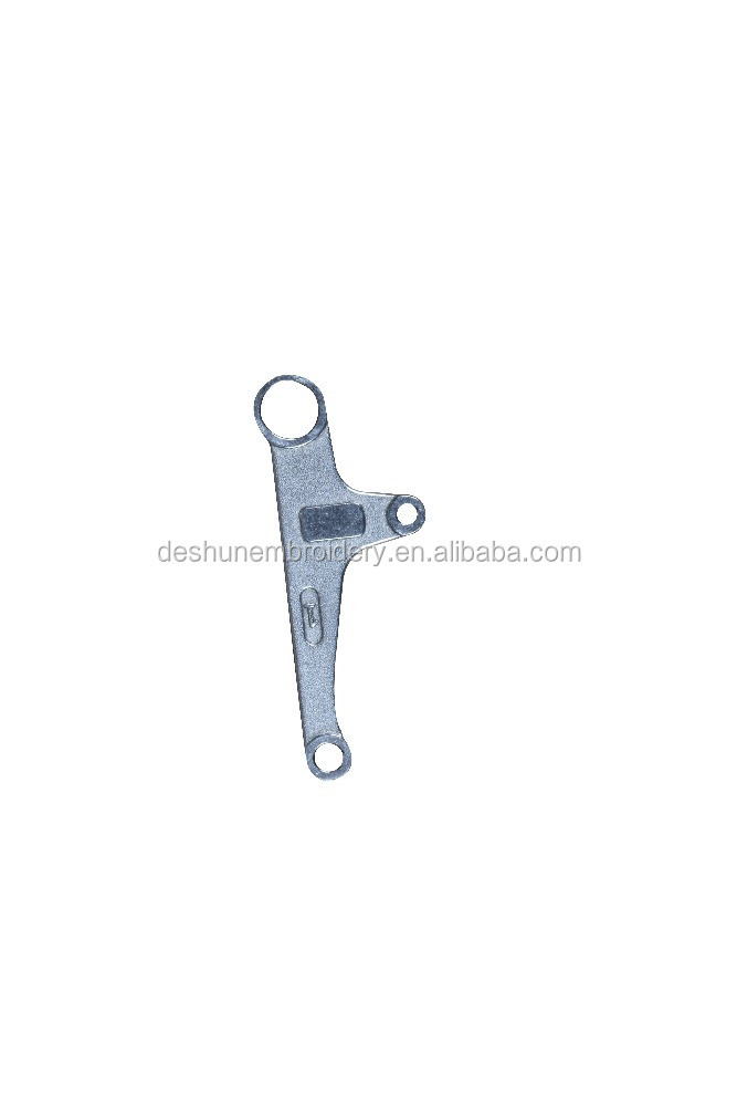 embroidery machine assembly parts pressor foot rocker three hole lever DS-0802036
