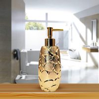 New Luxury Ovel shape Soap Dispenser lotion dispenser bathroom set