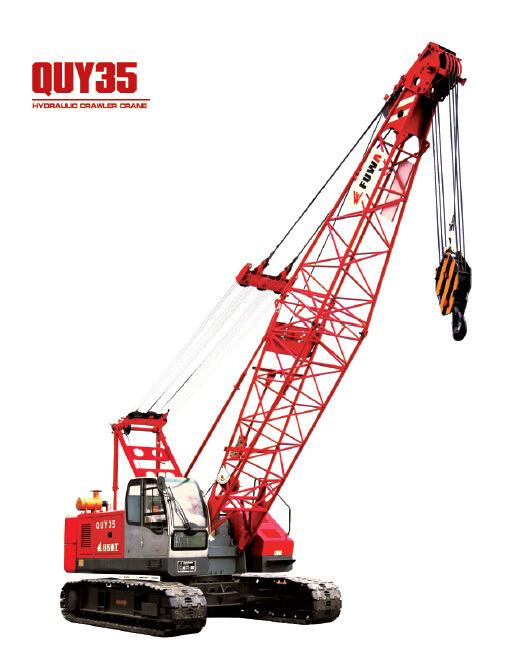 Used Mini Crawler Crane Type Quy35 For Sale