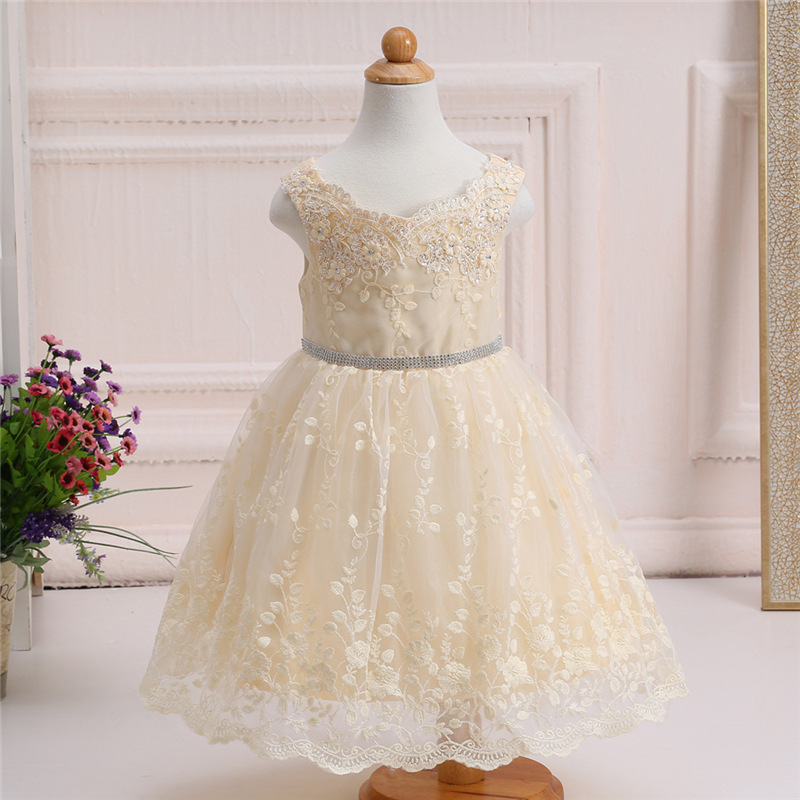 Wholesale India Kids Angel Dress Beach Wedding Flower Girl Dresses ...