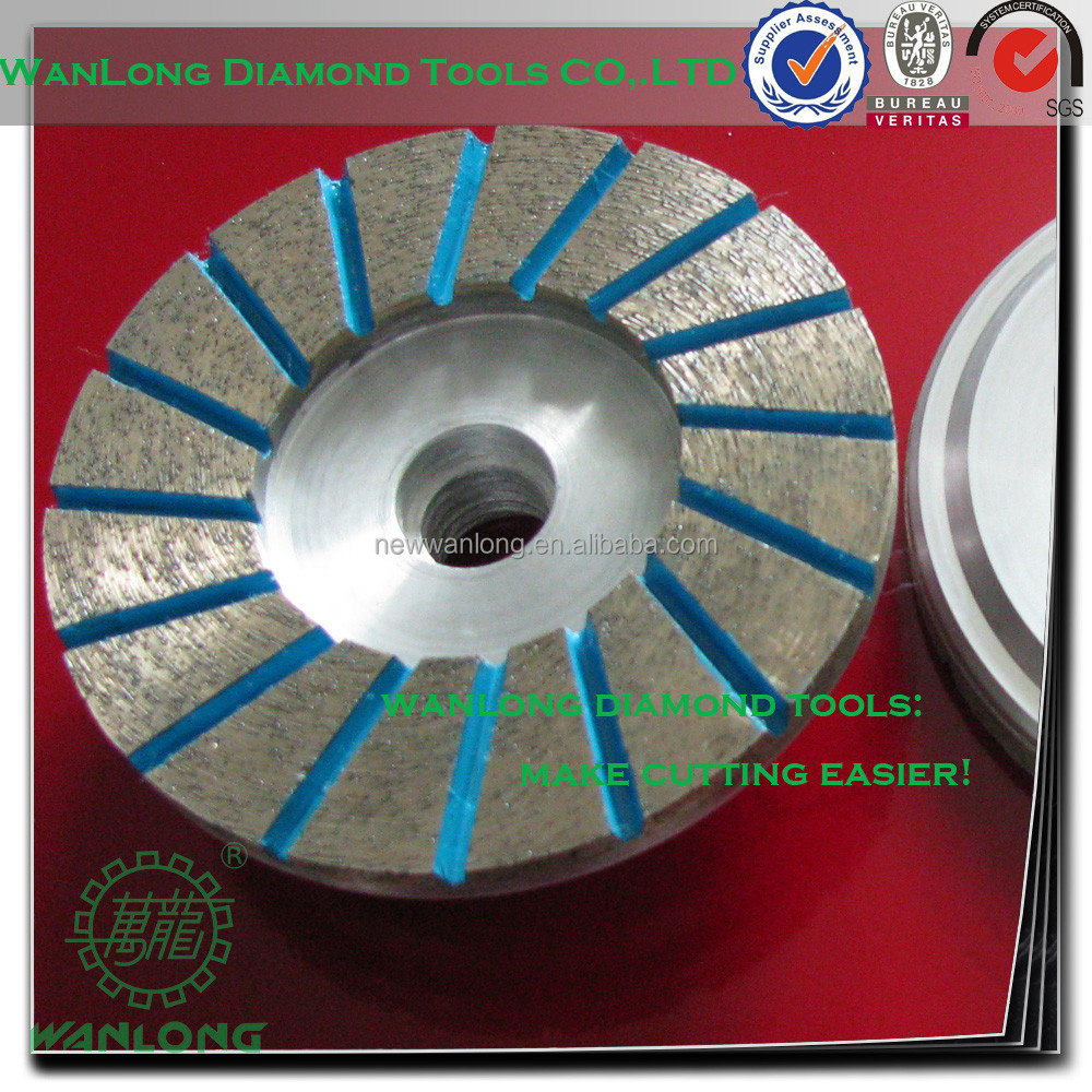 "5"" kinik cup wheel for natural stone grinding,diamond cup wheel manufacturer&supplier"