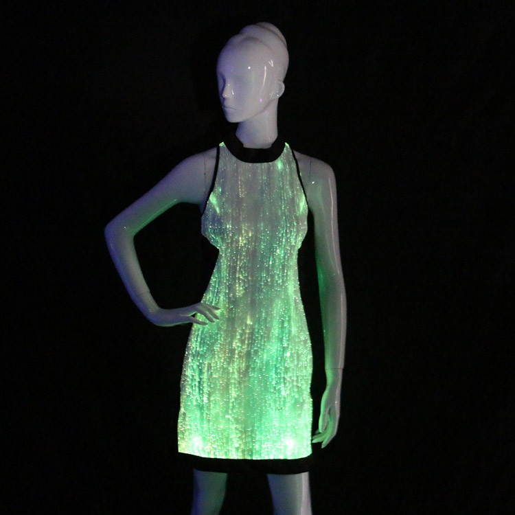 2018 led light up dresses glow in the dark bridesmaid dresses