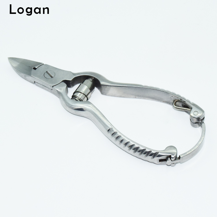 Professional Stainless Steel Sharpening Cuticle Clipper Nail Nipper with Lock