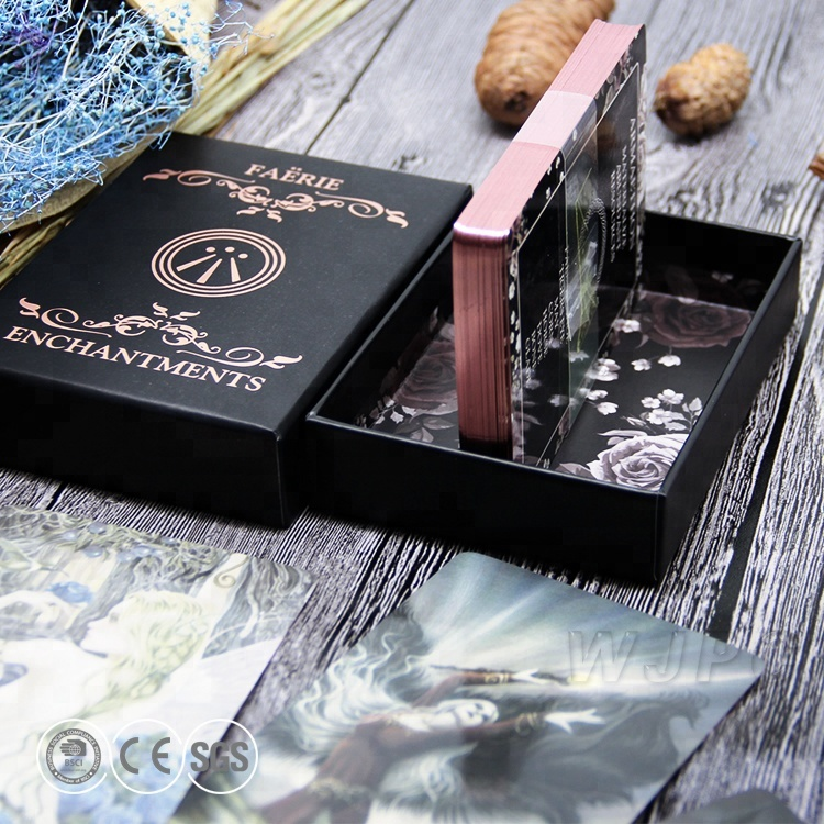Custom Design Tarot Oracle Karten Mit Bunte Kanten