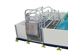 Pig/sow /piglet/piggery PVC farrowing crate/ Gestation/stall/pen with PVC panel(PVC Crate-23)