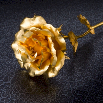 Golden Rose 24k Gold Flower Wholesale Factory Direct Supply Valentines Day Gifts